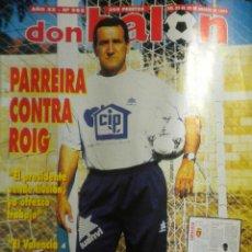 Coleccionismo deportivo: DON BALON 982 FELIPE LEDIAKHOV SPORTING GIJON AGOSTO 1994. Lote 40391687