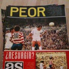 Coleccionismo deportivo: REVISTA PERIODICO AS COLOR Nº140 NUMERO 140 - SIN POSTER. Lote 40402810