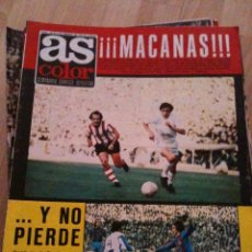 Coleccionismo deportivo: REVISTA PERIODICO AS COLOR Nº142 NUMERO 142 - SIN POSTER. Lote 40402820