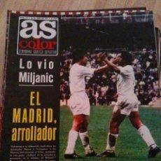 Coleccionismo deportivo: REVISTA PERIODICO AS COLOR Nº153 NUMERO 153 - SIN POSTER - EL REAL MADRID ARROLLADOR. Lote 40402877