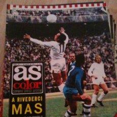 Coleccionismo deportivo: REVISTA PERIODICO AS COLOR Nº155 NUMERO 155 - SIN POSTER. Lote 40402909