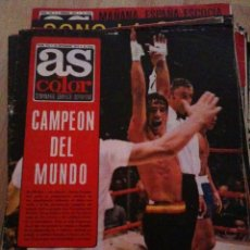 Coleccionismo deportivo: REVISTA PERIODICO AS COLOR Nº175 NUMERO 175 - SIN POSTER - BOXEO CAMPEON DEL MUNDO. Lote 40408266