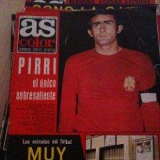 Coleccionismo deportivo: REVISTA PERIODICO AS COLOR Nº178 NUMERO 178 - SIN POSTER - SELECCION ESPAÑOLA PIRRI. Lote 40408287