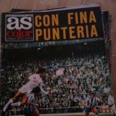 Coleccionismo deportivo: REVISTA PERIODICO AS COLOR Nº209 NUMERO 209 - SIN POSTER - REAL MADRID. Lote 40410263