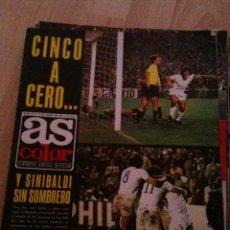 Coleccionismo deportivo: REVISTA PERIODICO AS COLOR Nº213 NUMERO 213 - SIN POSTER - REAL MADRID. Lote 40410321