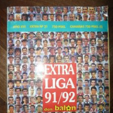 Collezionismo sportivo: EXTRA LIGA 91/92 EXTRA Nº 21 AÑO XVI. Lote 40411936