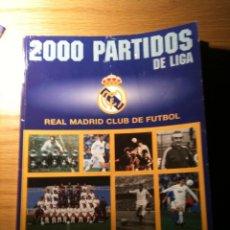 Coleccionismo deportivo: REAL MADRID 2000 PARTIDOS EN LIGA - 1000 PARTIDOS EN CASA (MARCA). Lote 24140949