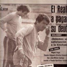 Coleccionismo deportivo: AS. DIARIO GRÁFICO DEPORTIVO. Nº 5454. 24 ABRIL 1985.. Lote 40523920