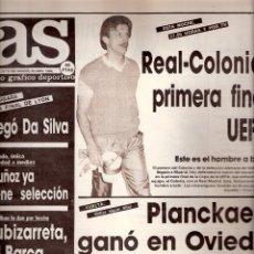 Coleccionismo deportivo: AS. DIARIO GRÁFICO DEPORTIVO. Nº 5768. 30 ABRIL 1986.. Lote 40524586