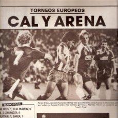 Coleccionismo deportivo: AS. DIARIO GRÁFICO DEPORTIVO. Nº 5892. 18 SEPTIEMBRE 1986.. Lote 40524955