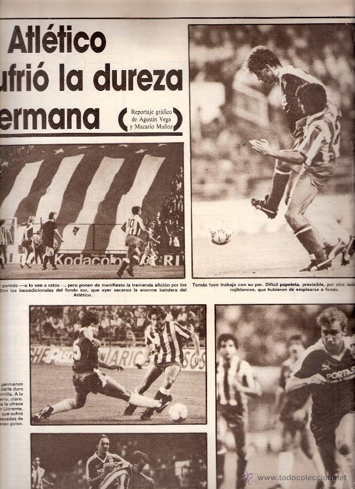 Coleccionismo deportivo: AS. Diario Gráfico Deportivo. Nº 5892. 18 septiembre 1986. - Foto 2 - 40524955