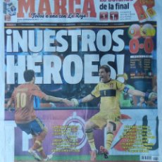 Coleccionismo deportivo: DIARIO MARCA SELECCION ESPAÑOLA CAMPEONA EURO 2012 - SEMIFINAL ESPAÑA - PORTUGAL EUROCOPA 12. Lote 40550480