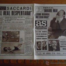 Coleccionismo deportivo: DIARIO GRAFICO DEPORTIVO AS - 2-2- 1977 N 2846 COPA EN MADRID RAYO GUERNICA GETAFE PEGASO CASTILLA . Lote 40614757