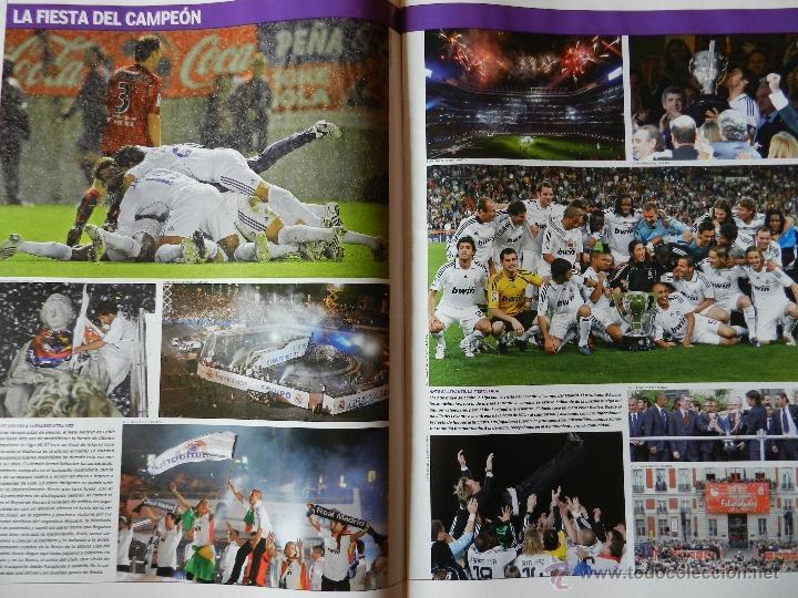 Coleccionismo deportivo: REVISTA SUPLEMENTO ESPECIAL MARCA REAL MADRID CAMPEON DE LIGA 2007/2008 - FOTOS RESUMEN GRAN FORMATO - Foto 5 - 130230556