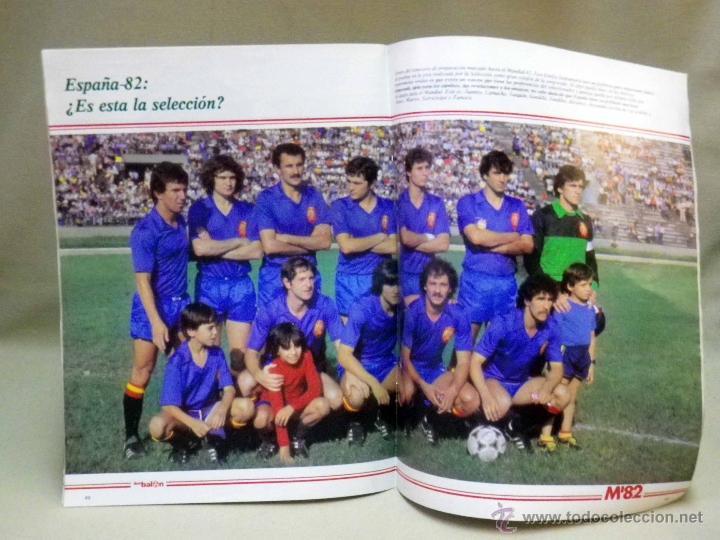 Coleccionismo deportivo: REVISTA DE FUTBOL, DON BALON, M82, MUNDIAL 82, Nº 2, GRADESA, POSTER CENTRAL SELECCION ESPAÑOLA - Foto 2 - 40658855