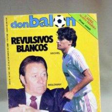 Coleccionismo deportivo: REVISTA DE FUTBOL, DON BALON, Nº 501, GRADESA, MAYO 1985, POSTER CENTRAL CADIZ. Lote 40659008