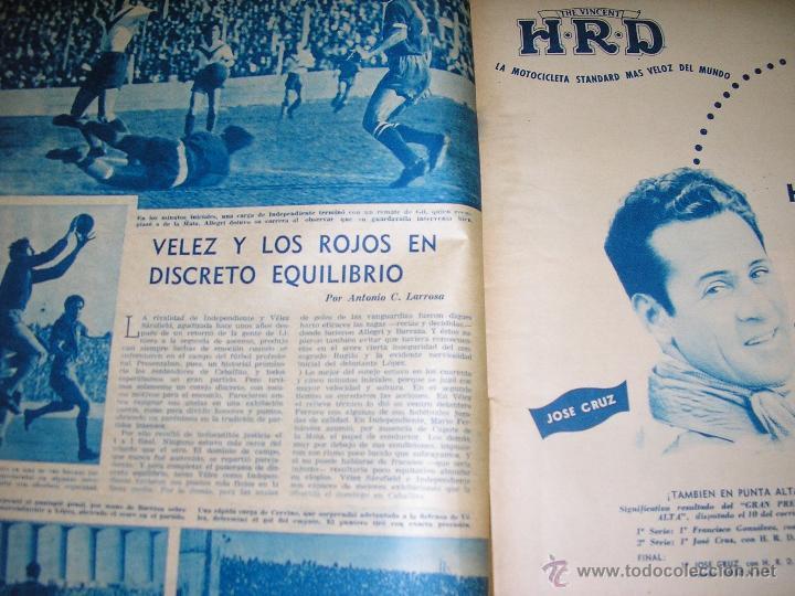 Coleccionismo deportivo: MUNDO DEPORTIVO Nº 14 - TAPA Ezequiel Navarra (BILLAR) - Año 1949 - Argentina - UNICA!! - Foto 2 - 40676442