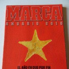 Coleccionismo deportivo: REVISTA ESPECIAL ANUARIO 10/11 DIARIO MARCA - EXTRA - RESUMEN AÑO 2010- CALENDARIO 2011. Lote 40739236