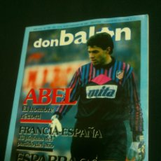 Coleccionismo deportivo: REVISTA FÚTBOL DON BALÓN Nº 799 FEBRERO 1991 POSTER BUTRAGUEÑO . Lote 40829369