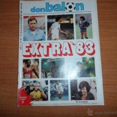 Coleccionismo deportivo: DON BALON Nº 428 EXTRA 83 96 PAGINAS 1983 . Lote 40853979