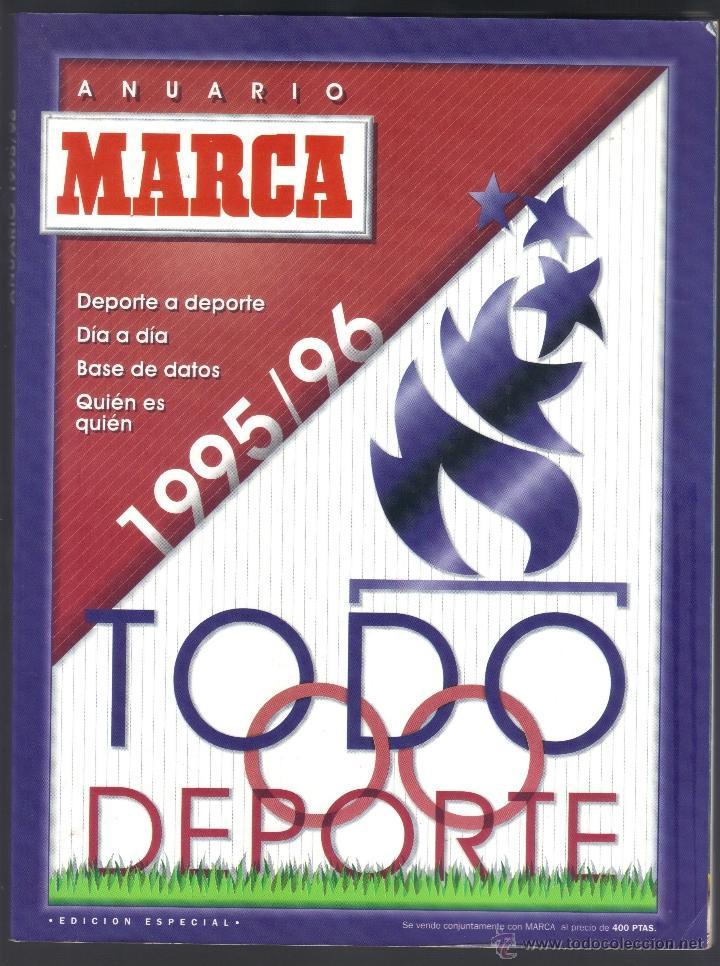 ANUARIO MARCA 1995/96, TODODEPORTE (Coleccionismo Deportivo - Revistas y Periódicos - Marca)