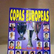 Coleccionismo deportivo: REVISTA DON BALON, COPAS EUROPEAS, Nº 35. Lote 40874997
