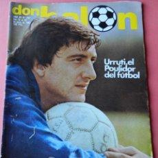 Colecionismo desportivo: DON BALON 1981 Nº 297 D'ALESSANDRO UD SALAMANCA-LEY UD LAS PALMAS GERARDO-NORIEGO ATHLETIC-URRUTI. Lote 41017250