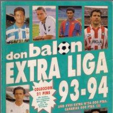 Coleccionismo deportivo: DON BALÓN. EXTRA LIGA 93-94 NÚMERO ESPECIAL.. Lote 41076126