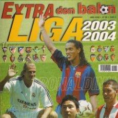 Coleccionismo deportivo: DON BALÓN. EXTRA LIGA 2003-2004 NÚMERO ESPECIAL.. Lote 41076459