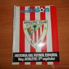 Coleccionismo deportivo: DON BALON Nº 435 1984 PORTADA ATHLETIC BILBAO FASCICULO POSTER - REPORTAJE COLOR MARADONA BARCELONA. Lote 41189776