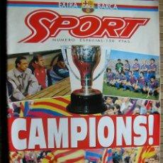 Coleccionismo deportivo: REVISTA SPORT CAMPIONS EXTRA BARÇA . Lote 41352501