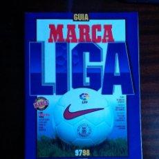 Coleccionismo deportivo: GUÍA ANUARIO LIGA MARCA 1997-98 PESO; 525 GRS. Lote 41368644