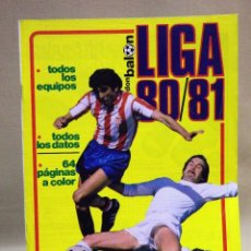 Coleccionismo deportivo: REVISTA DE FUTBOL, DON BALON, EXTRA 80 - 81, TODA LA LIGA, POSTER CENTRAL HERCULES. Lote 41375127