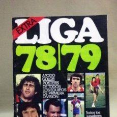 Coleccionismo deportivo: REVISTA DE FUTBOL, DON BALON, EXTRA 78 - 79, TODA LA LIGA, POSTER CENTRAL ATLETICO DE MADRID. Lote 41375237