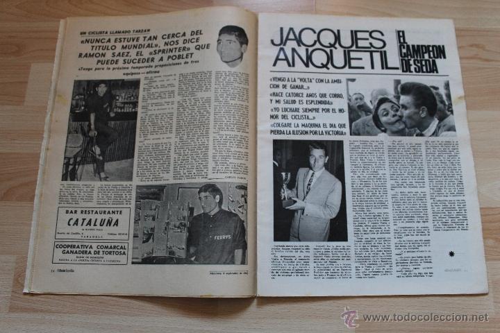 Coleccionismo deportivo: EL MUNDO DEPORTIVO 6 DE SEPTIEMBRE DE 1967 KUBALA - Foto 3 - 41419531