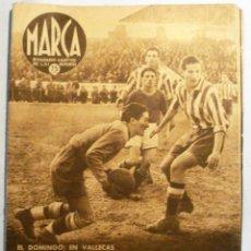 Coleccionismo deportivo: SEMANARIO MARCA - Nº 153 - ENERO 1942. Lote 41552780