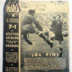 Coleccionismo deportivo: SEMANARIO MARCA - Nº 195 - NOVIEMBRE 1942. Lote 41552828