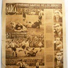 Coleccionismo deportivo: SEMANARIO MARCA - Nº 157 - FEBRERO 1942. Lote 41553454