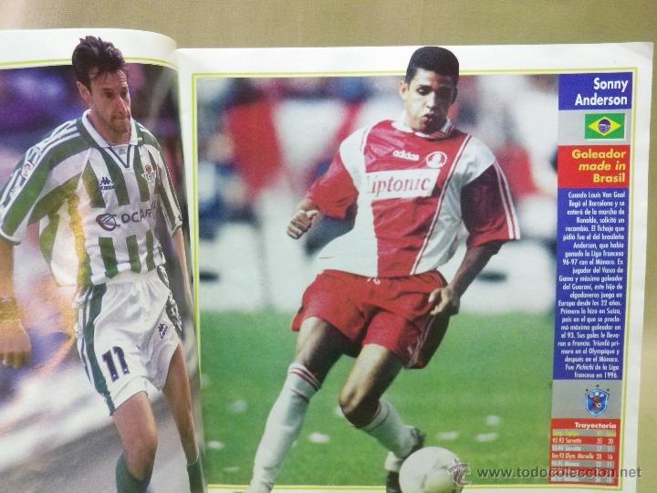 Coleccionismo deportivo: REVISTA DE FUTBOL, DON BALON EXTRA, TOP 40 GOLEADORES - Foto 3 - 41688336
