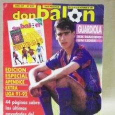 Coleccionismo deportivo: REVISTA DE FUTBOL, DON BALON, EDICION ESPECIAL, APENDICE EXTRA, LIGA 91 - 92, 1991 - 1992. Lote 41688976