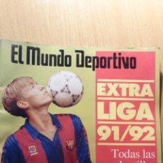 Coleccionismo deportivo: REVISTA EL MUNDO DEPORTIVO. EXTRA LIGA 1991 / 1992 . FOTOS DE LOS 20 EQUIPOS DE PRIMERA. FUTBOL . Lote 41792061