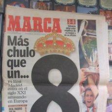 Coleccionismo deportivo: DIARIO AS Nº 10.739. 25 DE MAYO DE 2000. 8ª COPA DE EUROPA DEL REAL MADRID. Lote 42059473