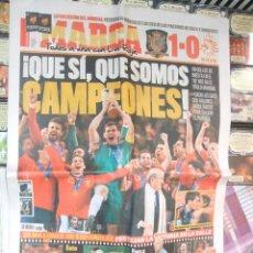 Coleccionismo deportivo: DIARIO MARCA 12 DE JULIO DE 2010 - CAMPEONES DEL MUNDO. ESPAÑA. Lote 42059781