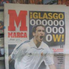 Coleccionismo deportivo: DIARIO MARCA 2 DE MAYO 2002 - RAUL EN PORTADA. Lote 42060035