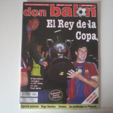 Coleccionismo deportivo: REVISTA DON BALON - Nº 1177 FC.BARCELONA CAMPEÓN COPA DEL REY 1998. Lote 42099396