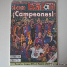 Coleccionismo deportivo: REVISTA DON BALON- Nº 1175 FC.BARCELONA CAMPEÓN DE LIGA 1998. Lote 56632027