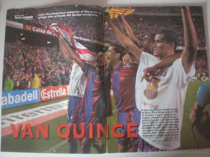 Coleccionismo deportivo: REVISTA DON BALON- Nº 1175 FC.BARCELONA CAMPEÓN DE LIGA 1998 - Foto 2 - 56632027