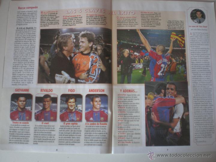 Coleccionismo deportivo: REVISTA DON BALON- Nº 1175 FC.BARCELONA CAMPEÓN DE LIGA 1998 - Foto 4 - 56632027