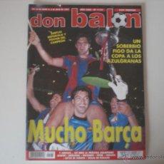 Coleccionismo deportivo: REVISTA DON BALON - Nº 1133 FC.BARCELONA CAMPEÓN DE LA COPA DEL REY 1997. Lote 42100023