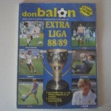 Coleccionismo deportivo: REVISTA DON BALÓN EXTRA LIGA 88/89 (EXTRA Nº 16). Lote 42130650